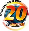 20 min Flugzeit