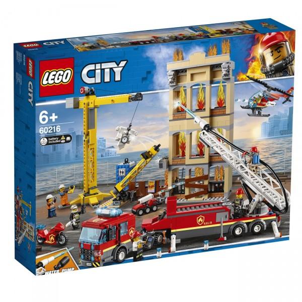 LEGO City 60216 - Feuerwehr in der Stadt