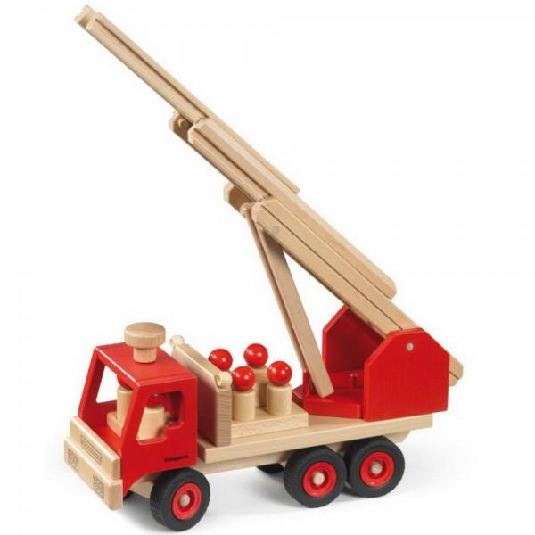 fagus Feuerwehr rot (10-48) Edition 2018 Holzspielzeug