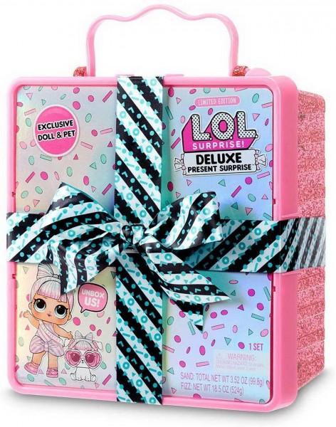 L.O.L. Surprise - Deluxe Present Surprise Pink Limitierte Auflage