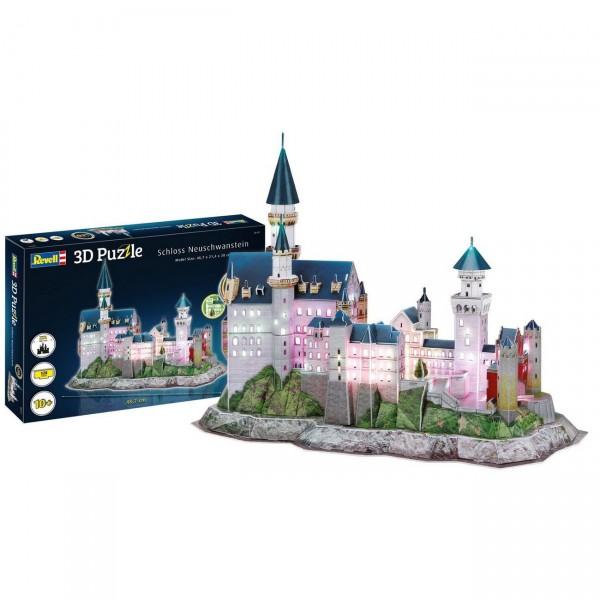 Revell 00151 - Schloss Neuschwanstein - LED Edition 3D Puzzle