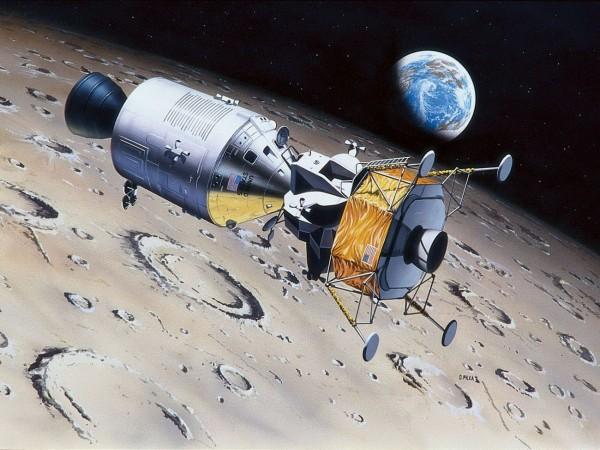 Revell 03700 - Apollo 11 Columbia & Eagle Modelle