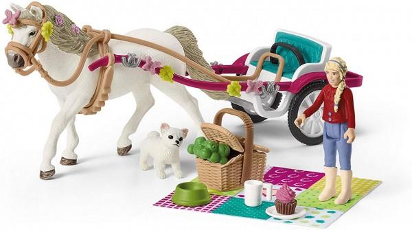 Kutsche für Pferdeshow - Schleich (42467) Horse Club