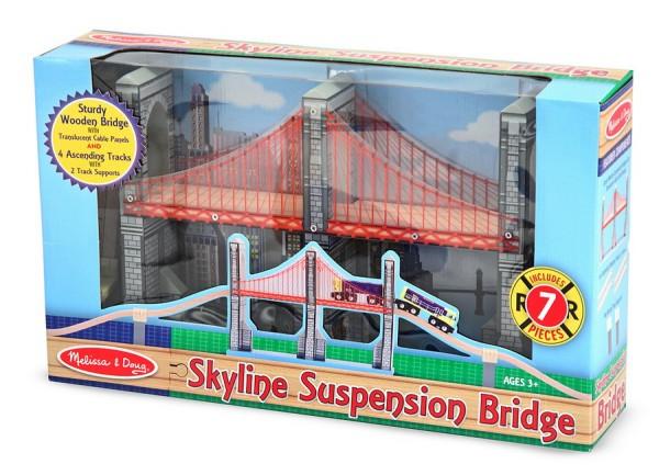 Hängebrücke Skyline (Holzeisenbahn)