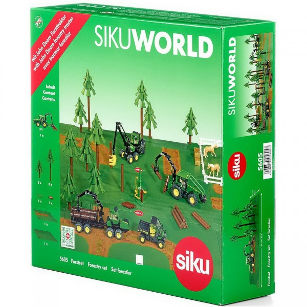 SIKU World 5605 - Forst-Set