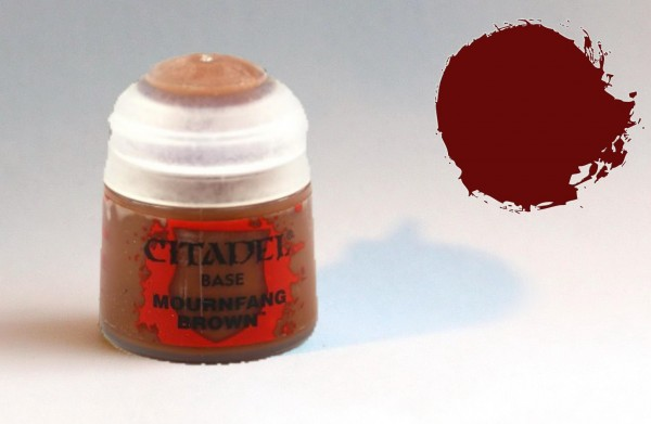 Citadel BASE Farbe - Mournfang Brown - 21-20