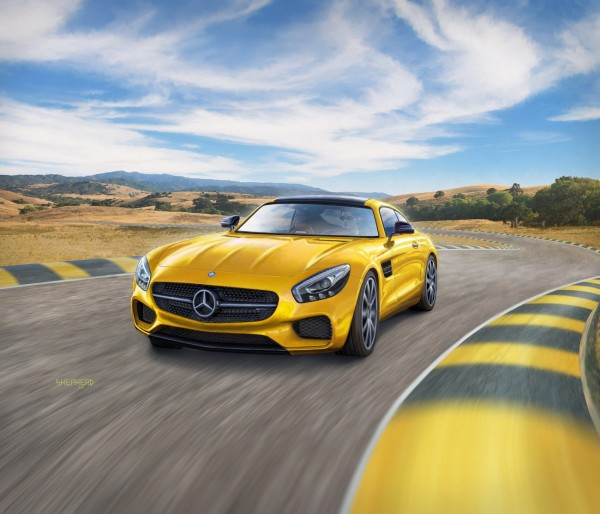 Revell 07028 - Mercedes-AMG GT - Auto Modell