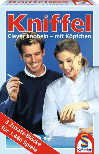Kniffel Ersatzblock 3er (Schmidt Spiele 49039)