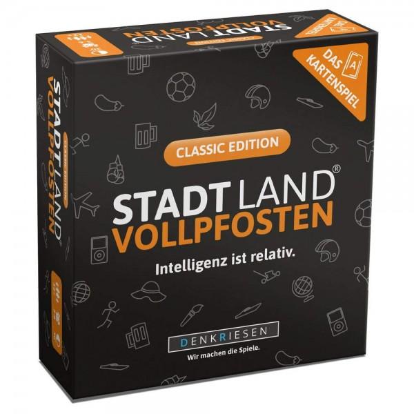 STADT LAND VOLLPFOSTEN - Classic - Kartenspiel (DENKRIESEN)