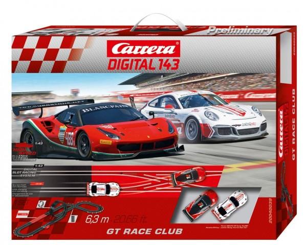 Carrera Digital 143 - GT Race Club (40039) Rennbahn