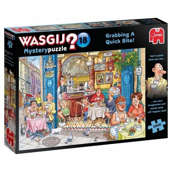 Wasgij Mystery 18 - Greifen Sie zu - Puzzle