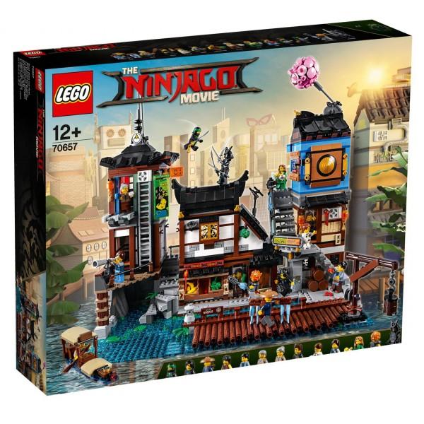 THE LEGO NINJAGO Movie 70657 - NINJAGO City Hafen