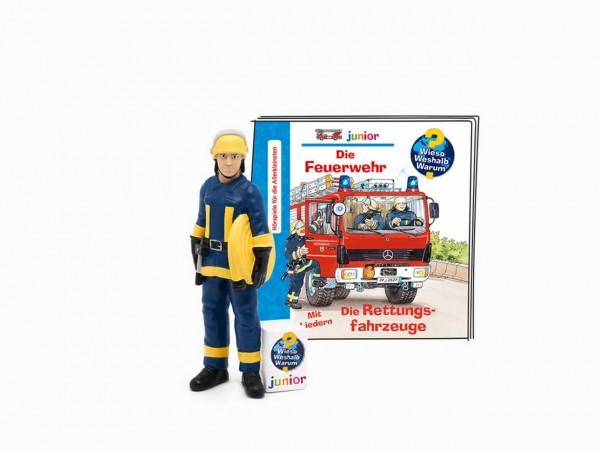 Tonies - Wieso Weshalb Warum junior - Die Feuerwehr - Hörspiel mit Liedern