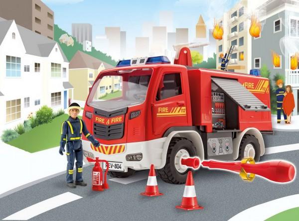 Revell Junior Kit - Feuerwehrauto mit Figur (00819)