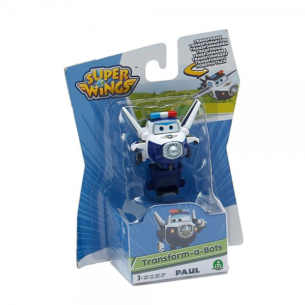 Super Wings PAUL - Mini Transform Flugzeuge