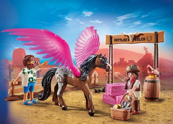 Playmobil 70074 - Marla Del und Pferd mit Flügeln (The Movie)