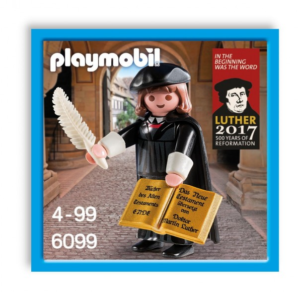 Playmobil 6099 - Martin Luther 1.Auflage 2016