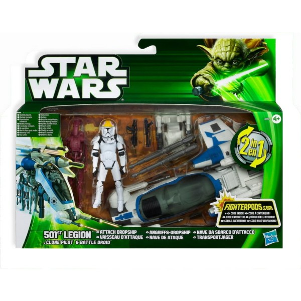 501st Legion Angriffs-Dropship 2in1 HASBRO A0921