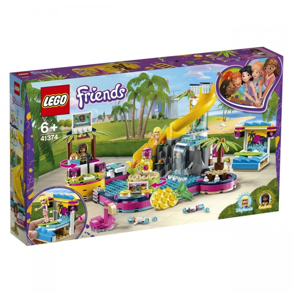 LEGO Friends 41374 - Andreas Pool-Party
