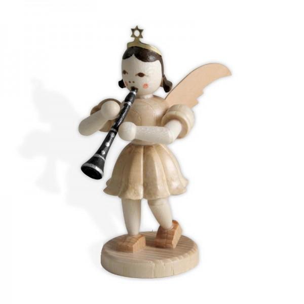 Blank Kurzrock-Engel mit Klarinette EK-026