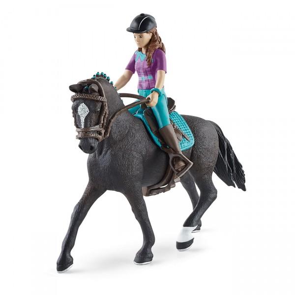 Lisa & Storm - Reiterin und Pferd - Schleich (42541) Horse Club