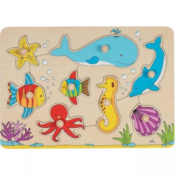 Steckpuzzle Unterwasserwelt (goki 57953)