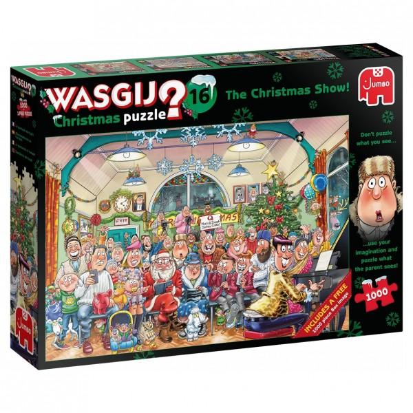 Wasgij Christmas 16 - Die große Weihnachtsvorstellung - 2 Puzzle je 1000 Teile