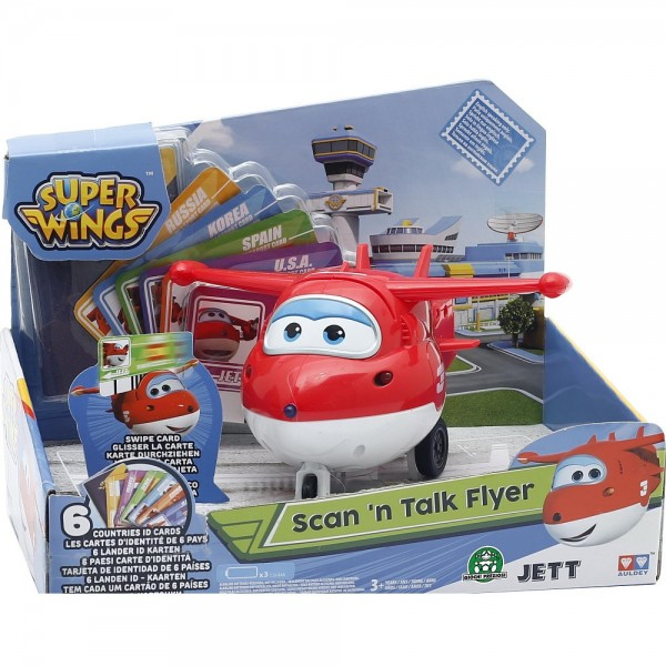 Super Wings JETT - Scan 'n Talk Flugzeug (710401)
