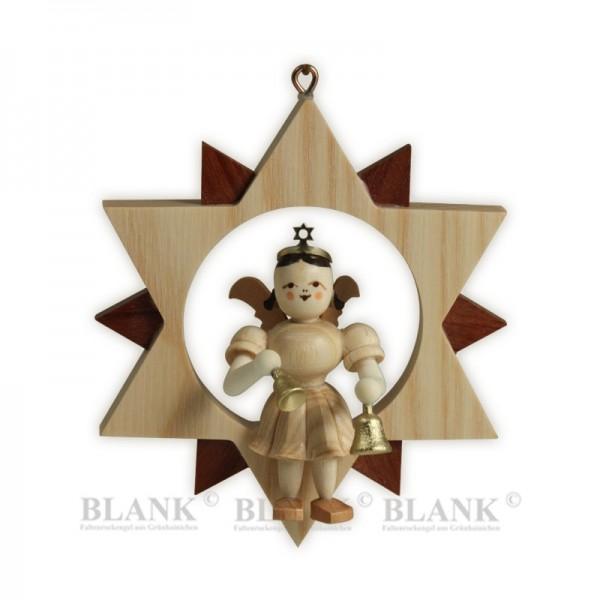Engel mit Glocken im Stern