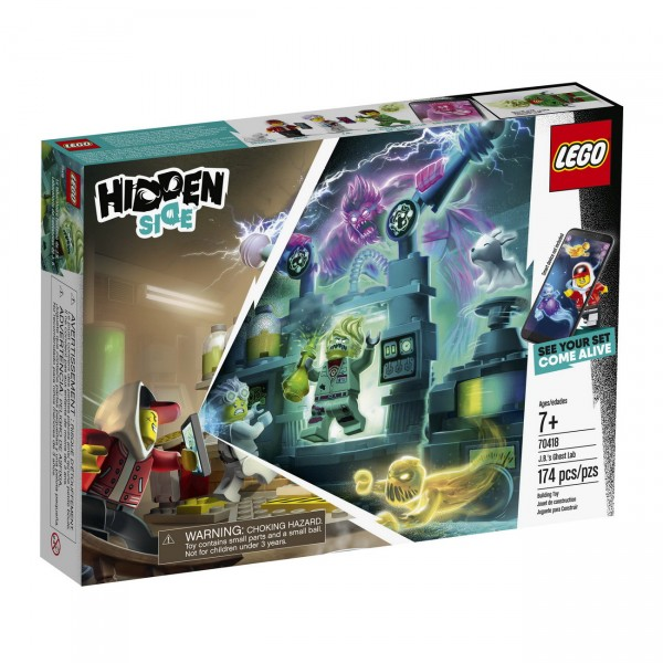 LEGO Hidden Side 70418 - J Bs Geisterlabor