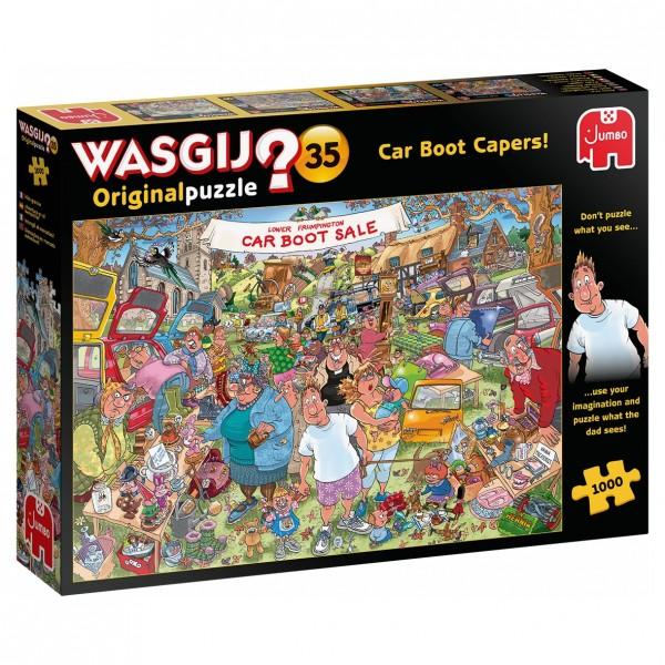 Wasgij Puzzle 35 - Flohmarkt Chaos - 1000 Teile