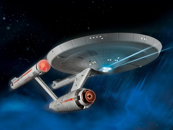 Revell 04991 USS Enterprise NCC-1701 - Star Trek Modell