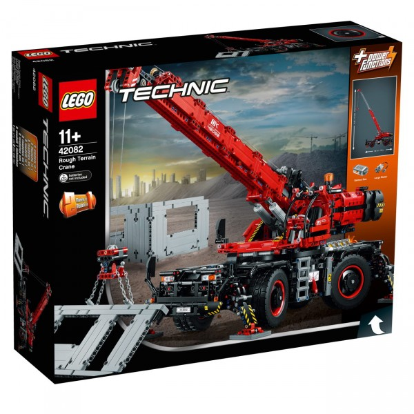 lego technic 42082 gel ndeg ngiger kranwagen technic. Black Bedroom Furniture Sets. Home Design Ideas