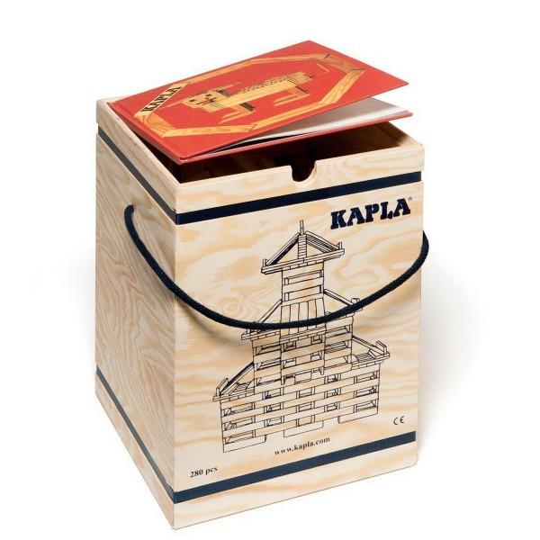 Kapla 280er Box mit Buch 1 rot (414/16)