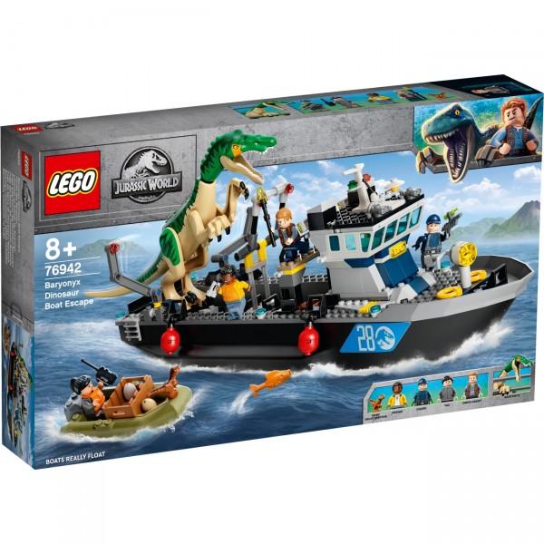 LEGO Jurassic World 76942 - Flucht des Baryonyx