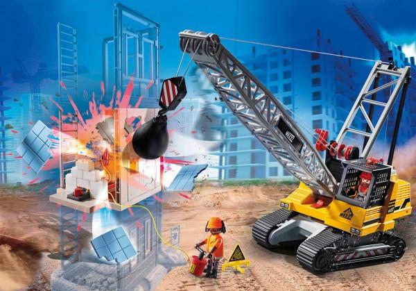 Playmobil 70442 - Seilbagger mit Bauteil - City Action