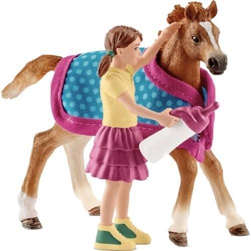 Fohlen mit Decke - Schleich (42361) Horse Club