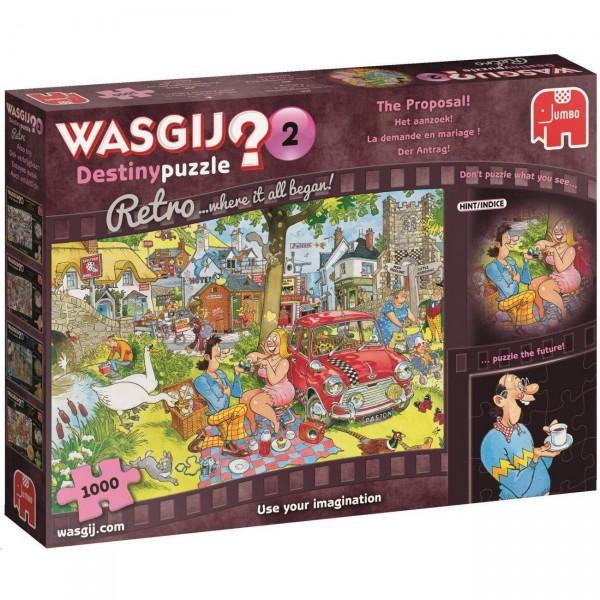 Wasgij Retro Destiny 2 - Der Heiratsantrag - Puzzle