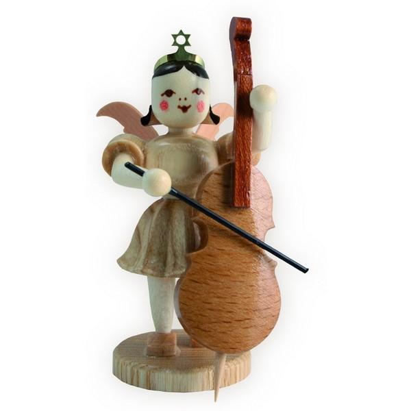 Blank Kurzrock-Engel mit Violoncello