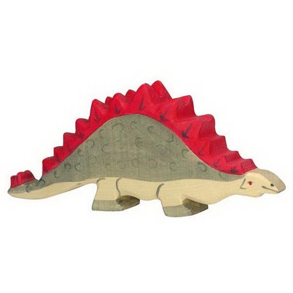 Holztiger Stegosaurus (80335) Dinosaurier Figur