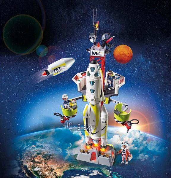 Playmobil 9488 - Mars-Rakete mit Startrampe Space