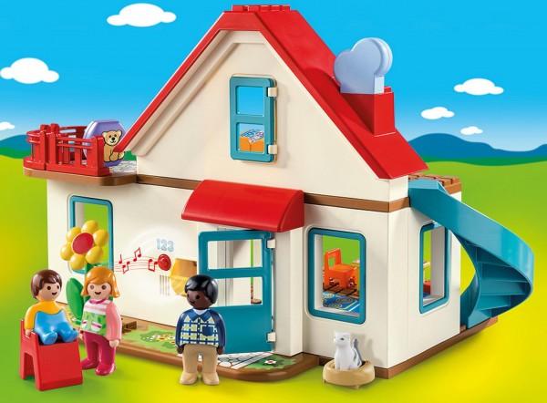 Playmobil 1 2 3 70129 - Einfamilienhaus