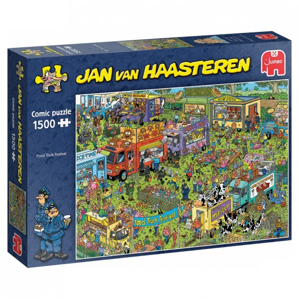 Puzzle - Food Truck Festival (van Haasteren) - 1500 Teile