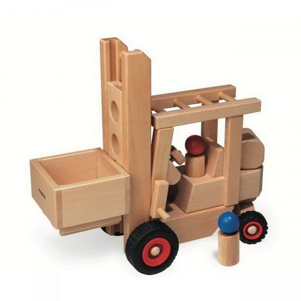 fagus Gabelstapler (10-43) Holzspielzeug