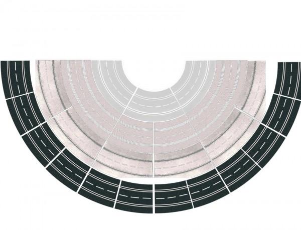 Carrera Kurve 4 - 12x 15 Grad (20578) Spur 7 und 8