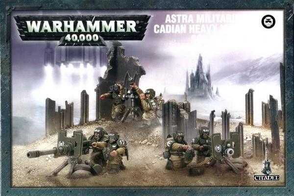 Warhammer 40k: Astra Militarum Cadian Heavy Weapon Squad (GW 47-19)