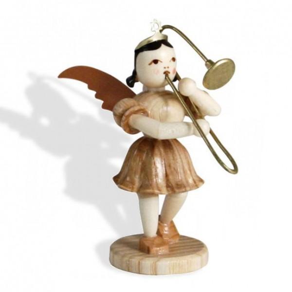 Blank Kurzrock-Engel mit Zugposaune