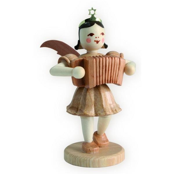 Blank Kurzrock-Engel mit Ziehharmonika
