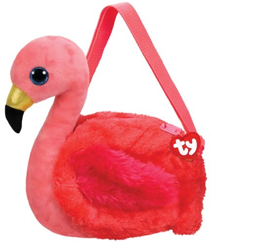 Glubschis Schultertasche - Gilda - Flamingo