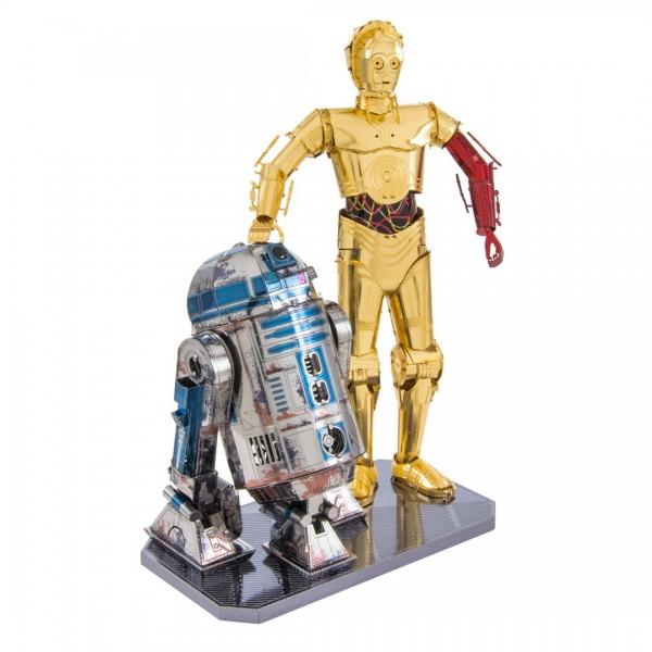 Metal Earth - Star Wars Set C-3PO + R2D2 (#MMG276)